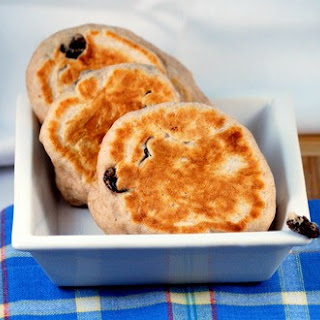 Cinnamon Raisin English Muffins.