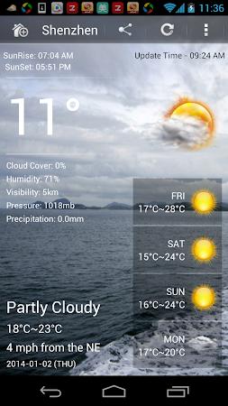 Weather Ultimate 1.6.3 screenshot 7042