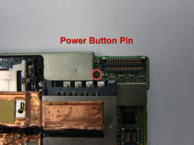 Google Nexus One power button replacement/connection pin