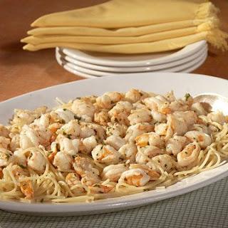 Shrimp Scampi with Spaghetti