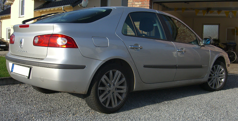 Renault Laguna II (Heckansicht)