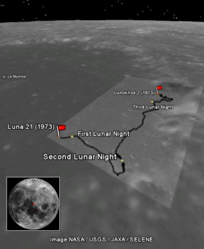 luna lunokhod 9 - photo #7
