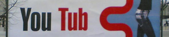Cartaz do youtub.