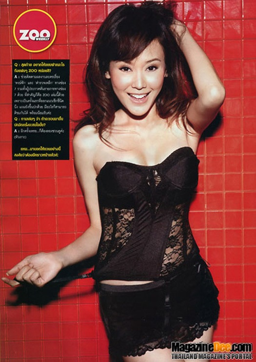 Yam Rungrada Sexy in ZOO WEEKLY Magazine | Thailand Actress - photo#27