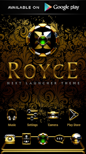 ROYCE Poweramp skin Screenshot
