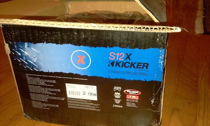 Kicker Solo X & ZX2500 1 Kicker Amp - Honda-Tech - Honda Forum