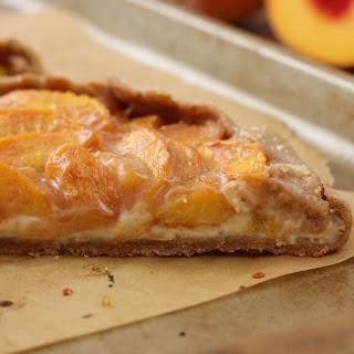 Peaches and Cream Crostata