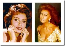 Sophia loren antes y despues