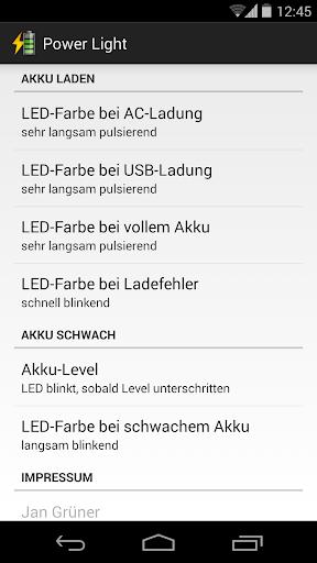 Nexus Battery LED