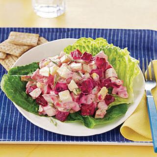 Beet and Egg Salad