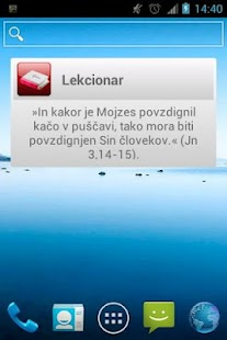 Lekcionar- screenshot thumbnail
