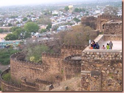 jhansi fort kudaan point