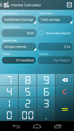 Interest Calculator