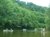 Messing about on the river at Symonds Yat
