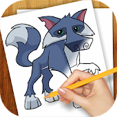 Learn to Draw Animal Jam Pets