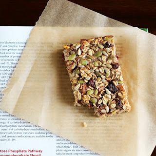 Nut & Seed Banana Oat Snack Bars