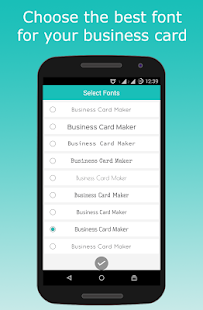 Business card maker apps on google play screenshot image reheart Image collections