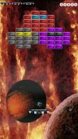 Screenshot of ArkAndroid game Arkanoid clone