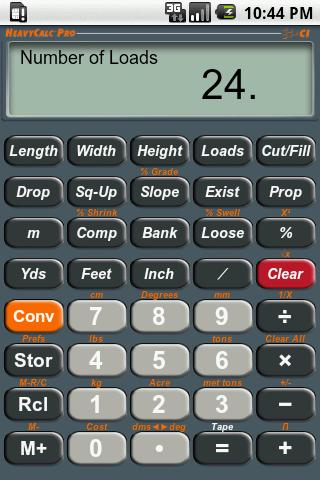 HeavyCalc Pro Calculator- screenshot