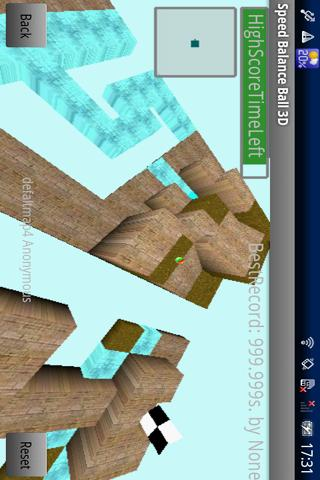 Speed Balance Ball 3D- screenshot