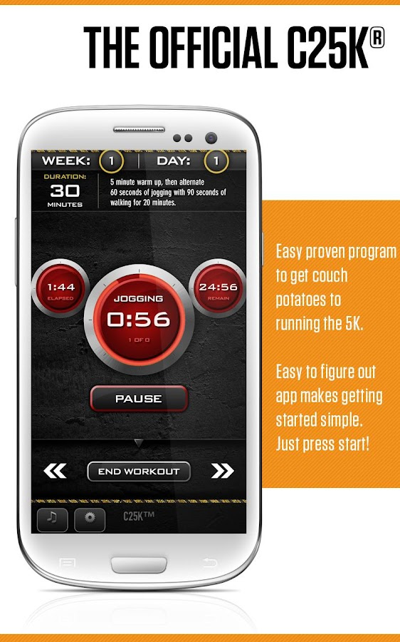 C25K® - 5K Trainer FREE - screenshot