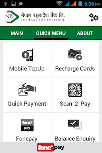 NB Mobile Banking Application- screenshot thumbnail