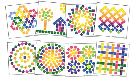 Magnetic Color Cubes Color By Number Confessions Of A Homeschooler
