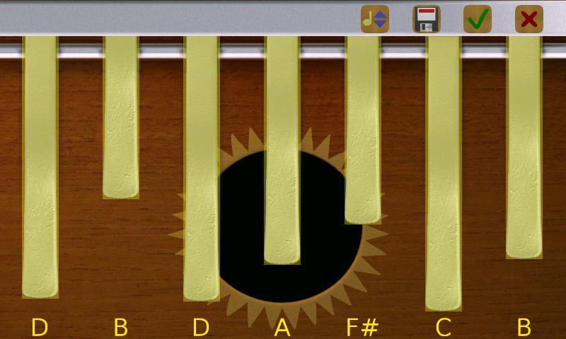 Kalimba Pro- screenshot
