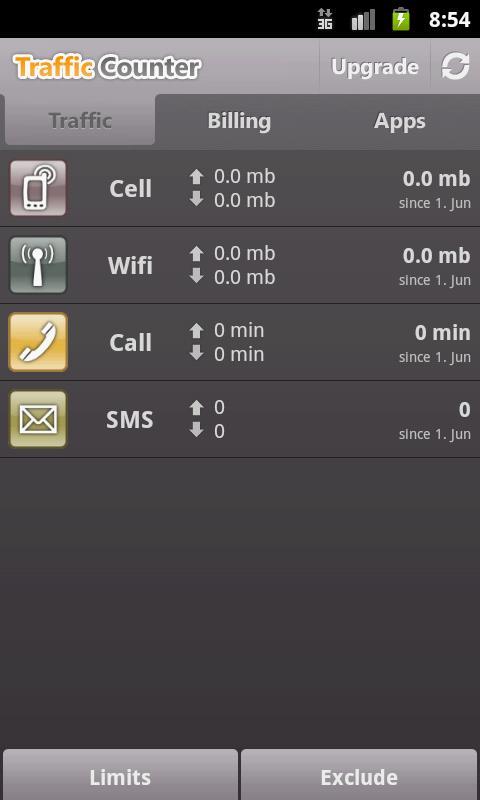 Traffic Counter Pro - screenshot