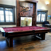 Log Cabin Rustic Pool Tables