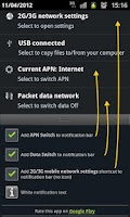Screenshot of APN & Data Switch Trial