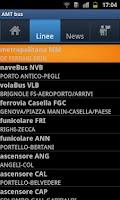Screenshot of AMT bus