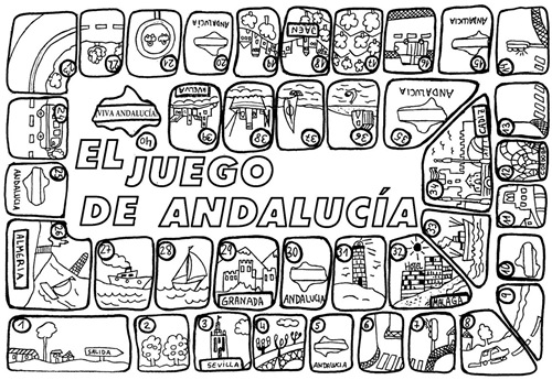 Dia De Andalucia Juego Para Imprimir