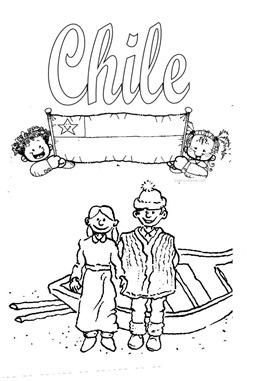 Dibujos Para Colorear De Chile Jugar Y Colorear
