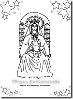 Imagenes Para Colorear De La Virgen De La Candelaria