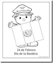Colorear Dibujos Día 24 De Febrero Día De La Bandera
