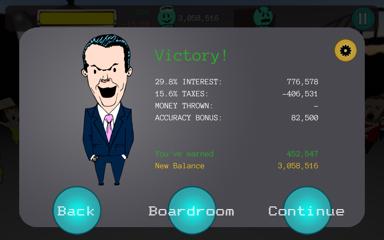 Bob the Bankster- screenshot