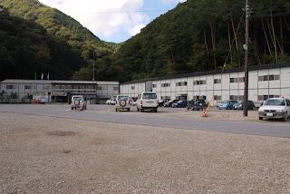 湯西川ダム本体建設JV工事事務所全景