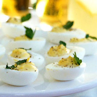 Deviled Eggs with Horseradish and Black Pepper