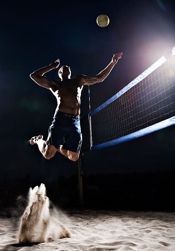 20 Sports Photography Tips For Beginners: Surrealistic Sports Photography By Tim Tadder