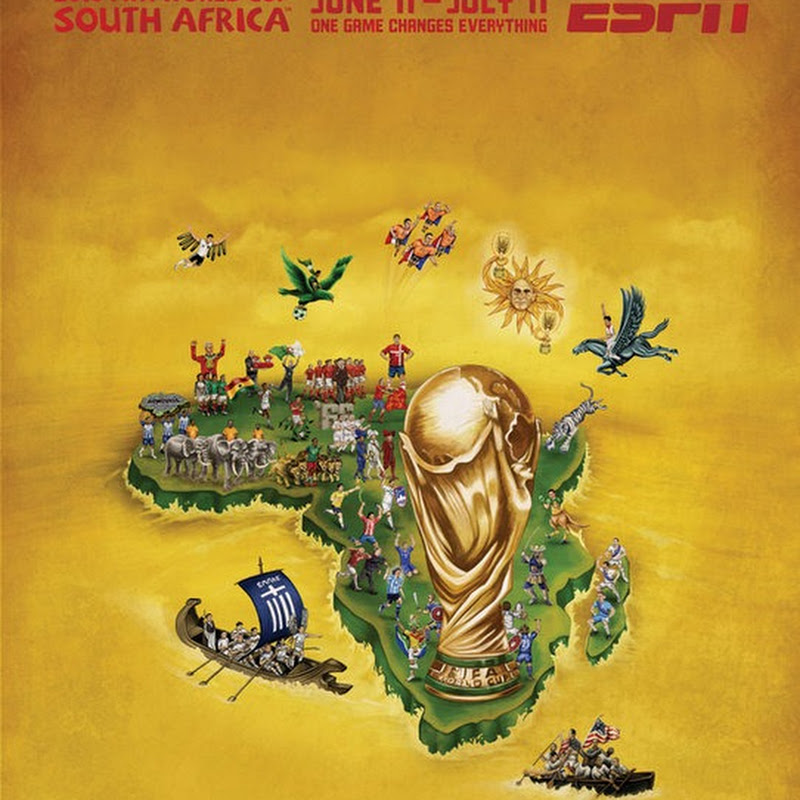 ESPN's FIFA World Cup 2010 Team Posters