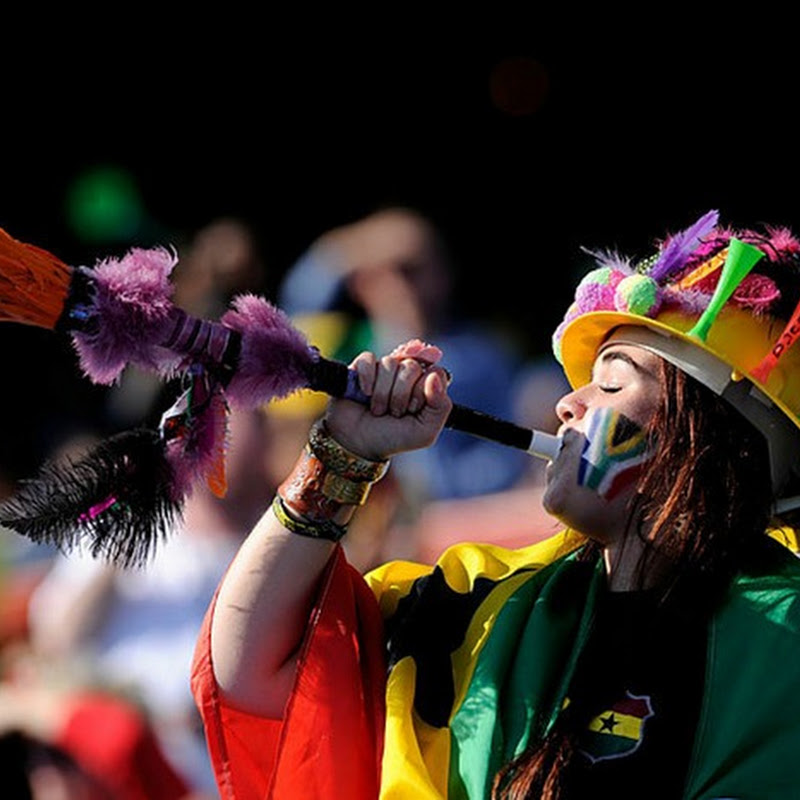 Wacky and Colorful Fans at the World Cup