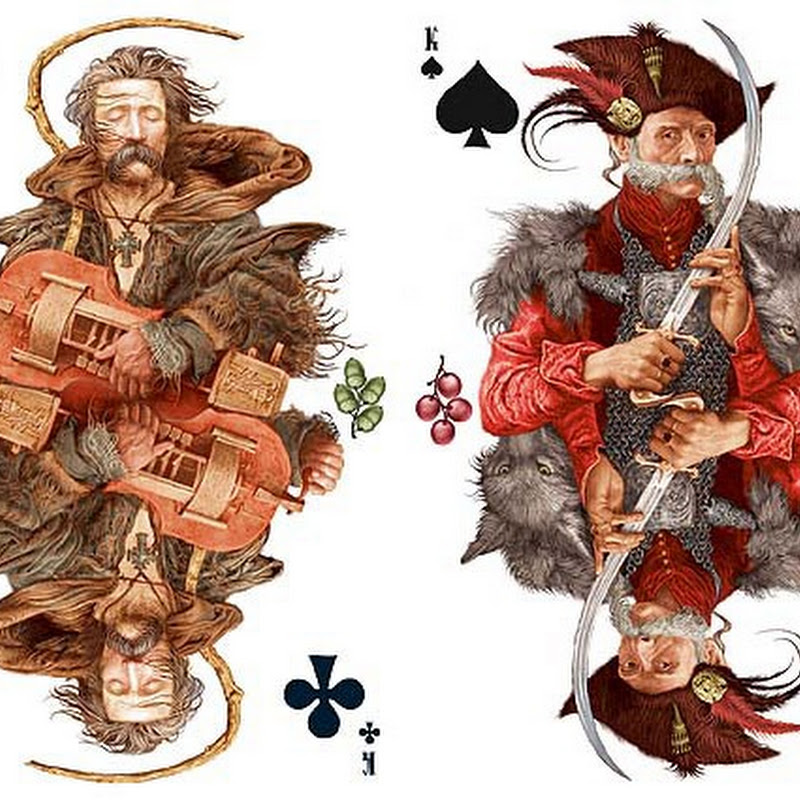 Artistic Playing Cards by Vladislav Erko