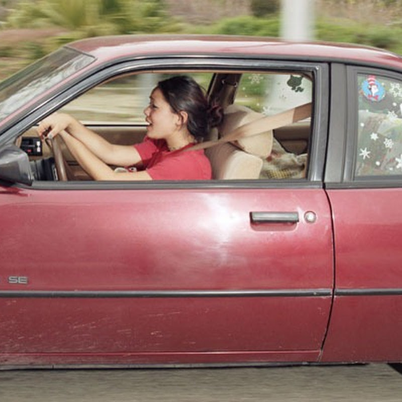 Andrew Bush Takes Photos of People Driving