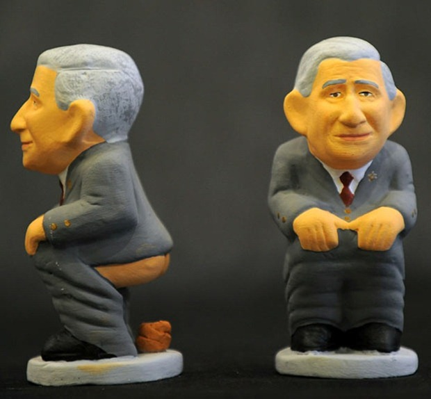 Caganers Figurines Of Pooping World Leaders In Nativity