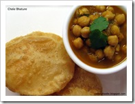 Cooking Foodie's Chole Bhature upload