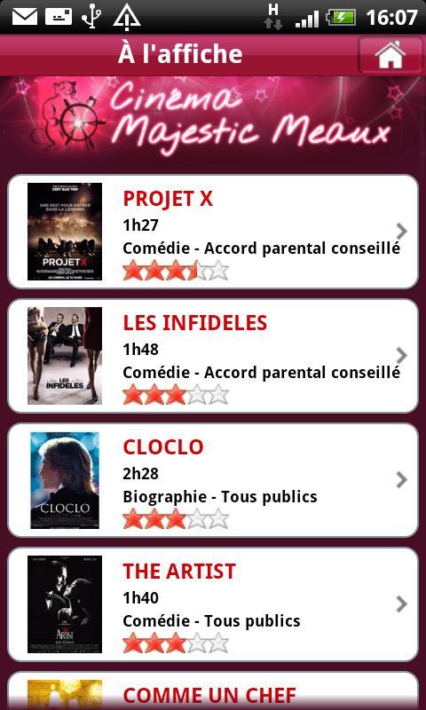 Cinéma Majestic Meaux- screenshot