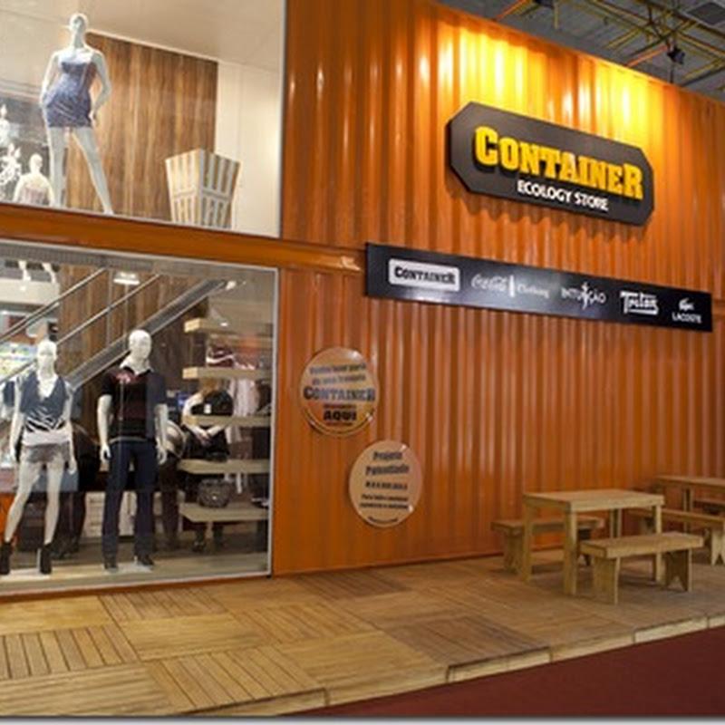 A Container Ecology Store é uma loja multimarcas que traz coleções de grifes  renomadas 2605c9e8977