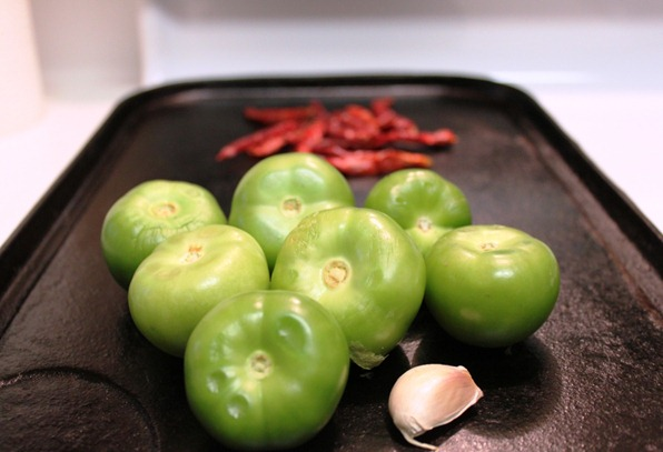 Roasted Tomatillo and Árbol Pepper Salsa | Mexican Recipes