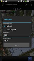 Screenshot of Antenna Pointer